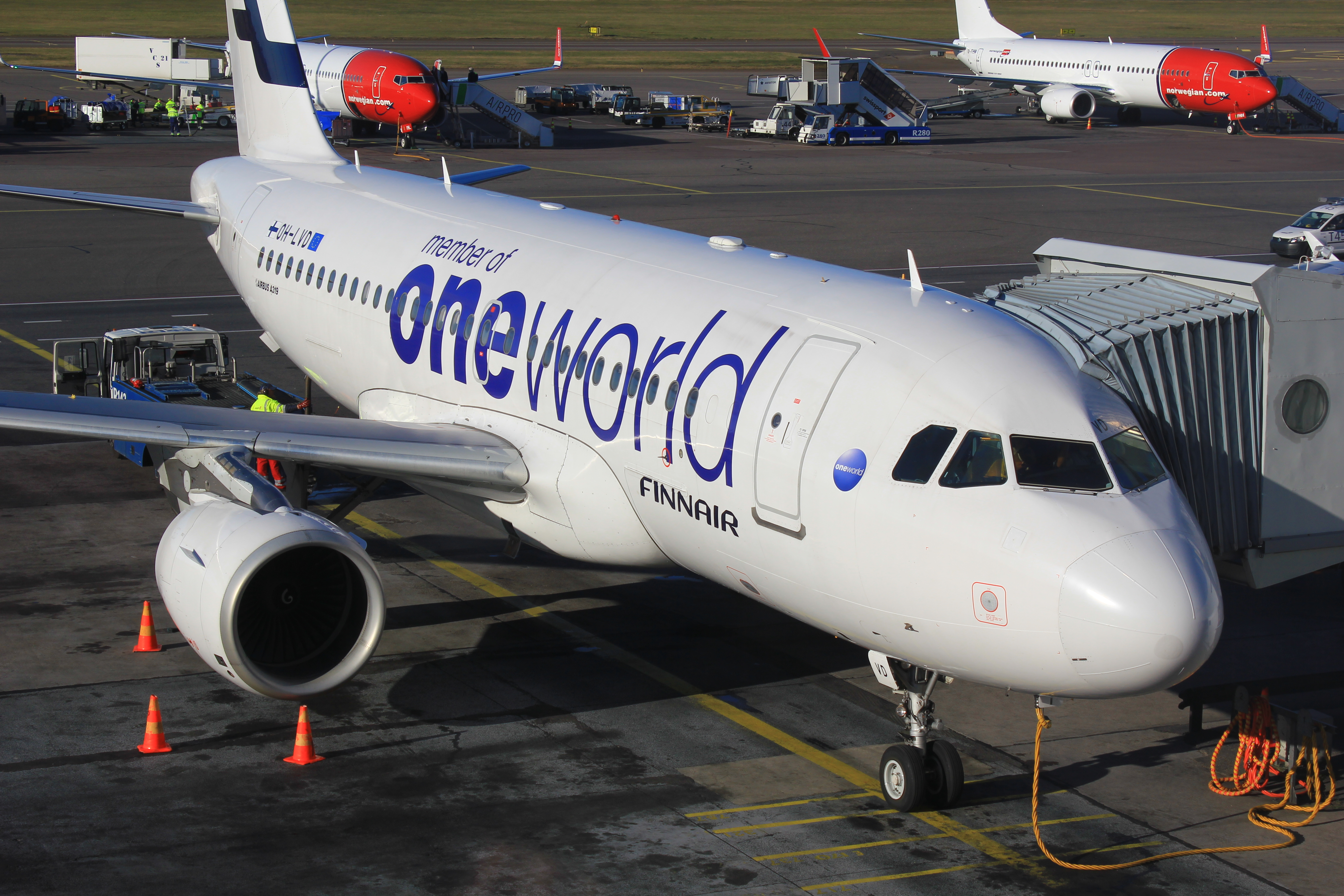 Finnair one world