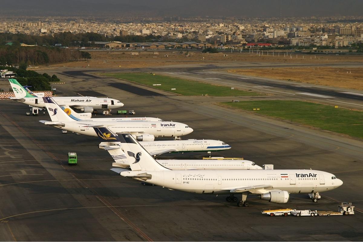 Mehrabad Airport Iran Air Mahan Air