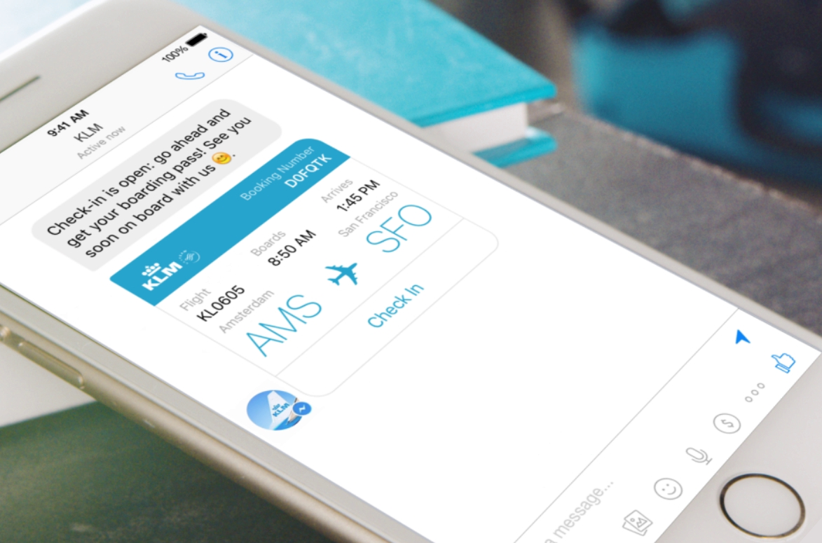 KLM-Facebook-Messenger