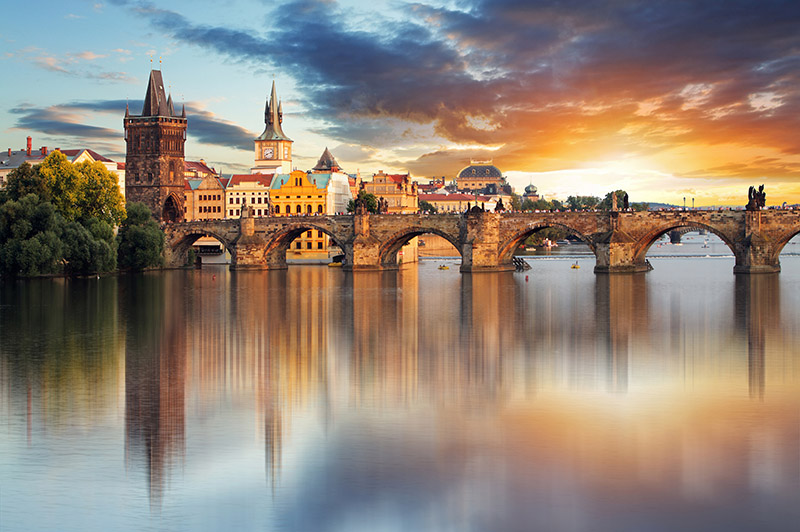 Prague – Charles bridge, Czech Republic